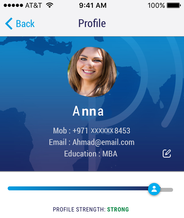 Your Profile - A great way to reach job providers